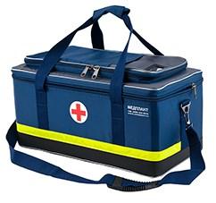 Набор реанимационный для оказания скорой медицинской помощи НРСП-01-«МЕДПЛАНТ» в сумке реанимационной СР-03 с набором для коникотомии, с аспиратором - фото 4695
