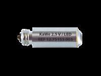 Лампочка 2,5 LED стандартная яркость для отоскопов F.O. Kawe - фото 4798