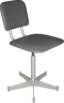Винтовой стул-кресло со спинкой М101ФОСП - фото 4940