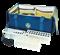 Сумка под штативы для проб крови и баканализов СПШ-3 - фото 4496