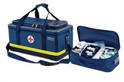 Укладка для оказания скорой медицинской помощи (общепрофильная / специализированная (реанимационная) по пр. № 549н от 07.08.2013 г., в сумке тканевой каркасной СР-3 - фото 4655