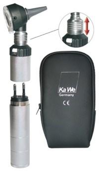 Отоскоп KaWe Комбилайт ФО 30 3,5В (фиброоптический) заряжается от сети (Германия) - фото 5115