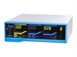 """Аппарат электрохирургический ЭХВЧ-300-01-""""АКСИ"""" (100Вт блок с сетевым кабелем, нейтральный электрод, кабель н/электрода, педаль двухклавишная, кабели для монополярных и биполярных инструментов) - фото 5857"""