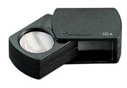 Лупа техническая складная апланатическая folding magnifiers, диаметр 23 мм, 10.0х - фото 6250