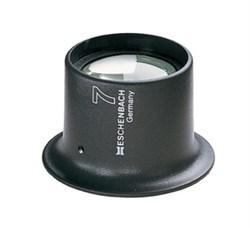Лупа техническая часовая плосковыпуклая Watchmaker's magnifiers, диаметр 25 мм, 7.0х (27.7 дптр) - фото 6254