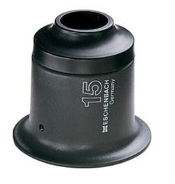 Лупа техническая каменная двойная Stone magnifier, диаметр 13 мм, 15.0х - фото 6255