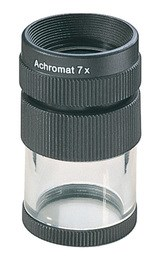 Лупа техническая настольная ахроматическая со шкалой измерения Precision scale magnifiers, диаметр 23 мм, 7.0х (28.0 дптр) - фото 6258