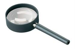Лупа техническая ручная асферическая в металлической оправе, диаметр 50 мм, 5.0х (20.0 дптр) - фото 6259