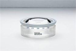 Лупа настольная светопольная менисковая асферическая с зумом menas ZOOM, диаметр 65 мм, 2.2х-3.4х - фото 6279