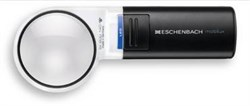 Лупа ручная асферическая со светодиодной подсветкой mobilux LED, диаметр 60 мм, 4.0х (16.0 дптр) - фото 6294