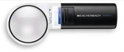 Лупа ручная асферическая со светодиодной подсветкой mobilux LED, диаметр 58 мм, 6.0х (24.0 дптр) - фото 6296