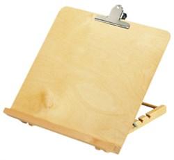 Подскавка для чтения деревянная (клён) Reading Stand, 400 х 350 мм - фото 6316