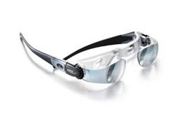 Лупа (очки) бинокулярная асферическая для просмотра телевизора maxTV, 2.1х, настройка каждого глаза от -3.0 до +3.0 дптр. - фото 6318