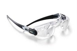 Лупа (очки) бинокулярная асферическая для просмотра зрелищных мероприятий maxEVENT, 2.1х, настройка каждого глаза от -2.25 до +3.75 дптр. - фото 6319