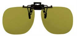 Насадка на очки с поляризационными светофильтрами на клипсе Cut-off filter clip-ons, 450 нм, светопропускание 34%, категория 2, подходят для водителей - фото 6351