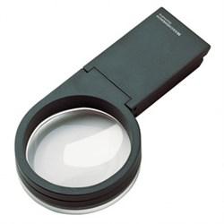 Лупа ручная/настольная двояковыпуклая visoflex, диаметр 60 мм, 2.5х (10.0 дптр) - фото 6380
