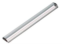 Лупа линейка настольная светопольная плосковыпуклая с красной направляющей линией, 250 х 35 мм, 1:1.8 - фото 6385