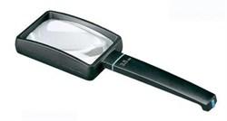 Лупа ручная асферическая aspheric II, 75 х 50 мм, 3.5х (10.0 дптр), шнурок на шею - фото 6409