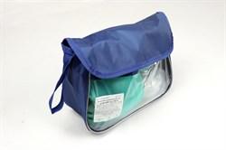 """Комплект дыхательный для ручной ИВЛ (мешок дыхательный силиконовый типа """"Амбу"""" с двумя масками, многоразовый, автоклавируемый):взрослый, арт. 475"""