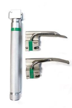 Ларингоскоп для экстренной медицины ЛЭМ-02/ВО волоконно-оптический неонатальный (рукоять+2 клинка)