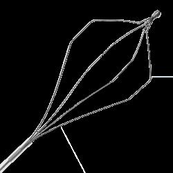 Корзинка эндоскопическая Wilson Instruments, для экстракции, многоразовая, гексагональная, из стальной проволоки - фото 8667