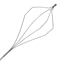Корзинка эндоскопическая Wilson Instruments, для экстракции, одноразовая, гексагональная, сталь (упаковка - 5 шт.) - фото 8671