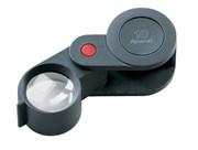 Лупа техническая складная апланатическая в пластиковом корпусе Plastic precision folding magnifiers, диаметр 23 мм, 10.0х