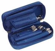 Ларингоскоп для экстренной медицины ЛЭМ-02/Л лампочный для взрослых (рукоять+3 клинка)